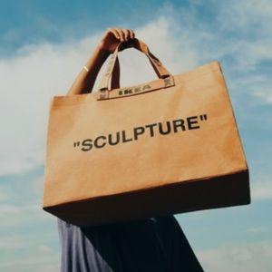 Virgil Abloh x IKEA Markerad Shopping Tote Bag